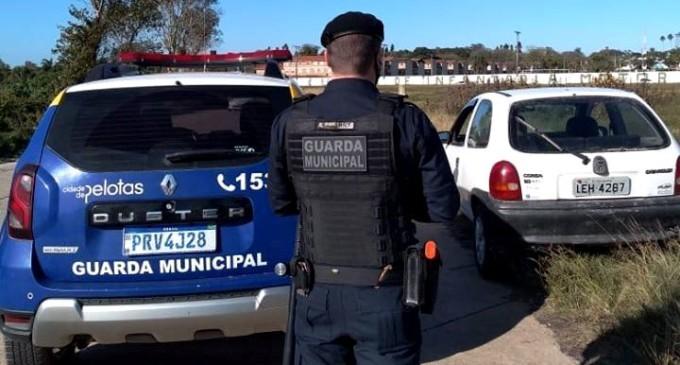 Guarda Municipal recupera veículo