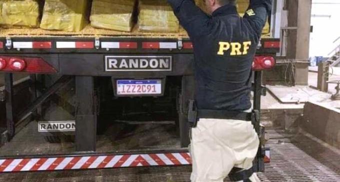 28 TONELADAS : Desempregado, homem que transportava carga de maconha iria receber R$40 mil