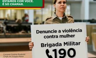VIOLÊNCIA CONTRA A MULHER :  Campanha incentiva a denúncia