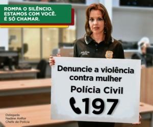 Chefe de Polícia Nadine Farias Anflor