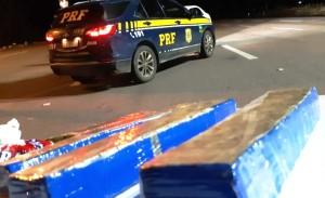 Três quilos de maconha apreendidos na rodovia