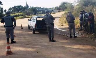 BM realiza operação na zona rural