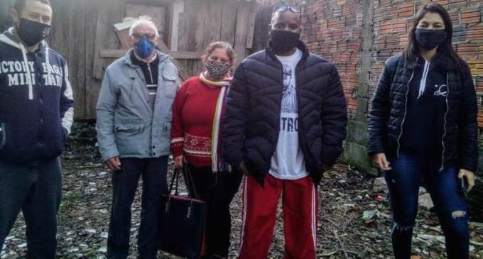 SOLIDARIEDADE : Um novo chalé para  família na zona norte