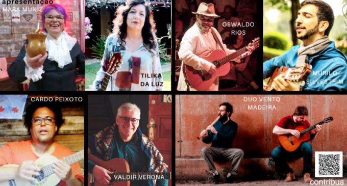 DANDÔ  : Músicos locais na Mostra Virtual do Circuito/Sul
