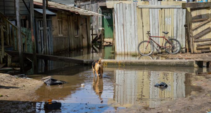 Alta do São Gonçalo ameaça moradias da Barra e Doquinhas