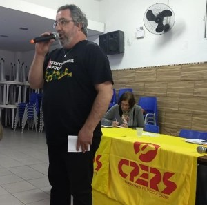 Diretor geral do 24º Núcleo Mauro Amaral