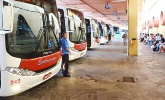 Bandeira vermelha altera número de passageiros em viagens intermunicipais
