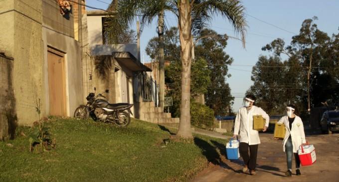 PESQUISA :  RS tem um infectado Covid para cada 104 habitantes