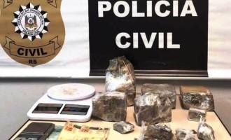 POLÍCIA CIVIL : Traficante é preso no Porto