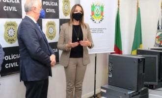 POLÍCIA CIVIL :  Tribunal doa computadores