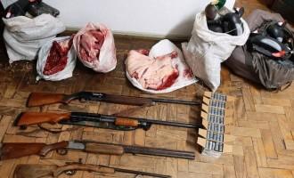 ARR0IO GRANDE :  Suspeito estava com quatro espingardas