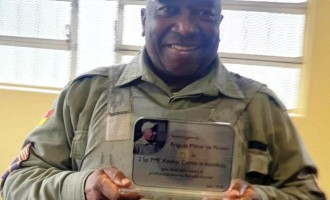 45 ANOS DE BM : 4º BPM homenageia policial militar