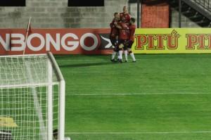 Lázaro marcou o primeiro gol Xavante na Série B 2020
