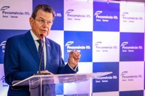 presidente da Fecomércio-RS, Luiz Carlos Bohn.