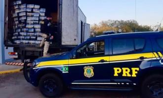 PRF bate recorde de apreensão de maconha no Rio Grande do Sul