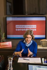 Paula anunciou medidas restritivas na tarde desta terça