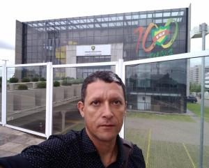 Luciano Proença em visita à FGF em 2019