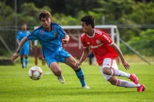 Jogo-treino contra o Inter foi o único realizado pelo Pelotas em preparação para Série D Foto: Tales Leal / EC Pelotas
