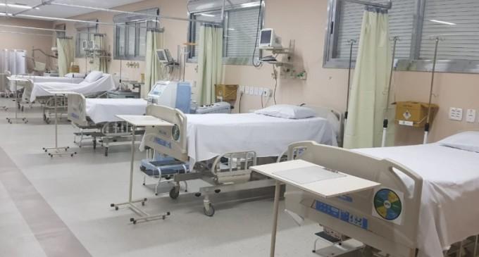 Estado inicia processo de abertura de novos leitos para atender pacientes da Covid-19