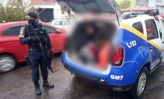 GUARDA MUNICIPAL  : Prisões na vila Farroupilha
