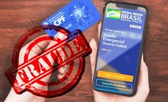 POLÍCIA FEDERAL  : Operação para combater as  fraudes ao auxílio emergencial