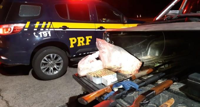 Homens que caçavam aves no Taim são presos pela PRF