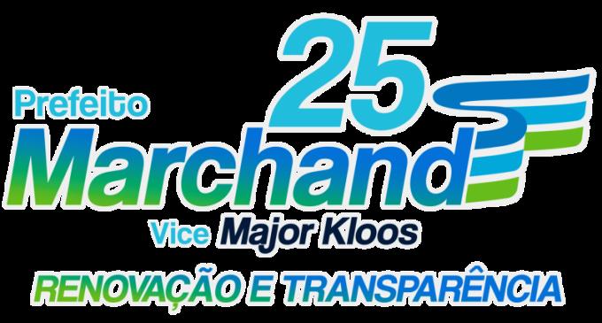 """ELEIÇÃO 2020   : Campanha """"Renovação e transparência"""" de Marco Marchand"""