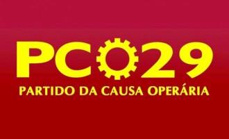 ELEIÇÃO 2020  : Gestão operária com o PCO na Prefeitura