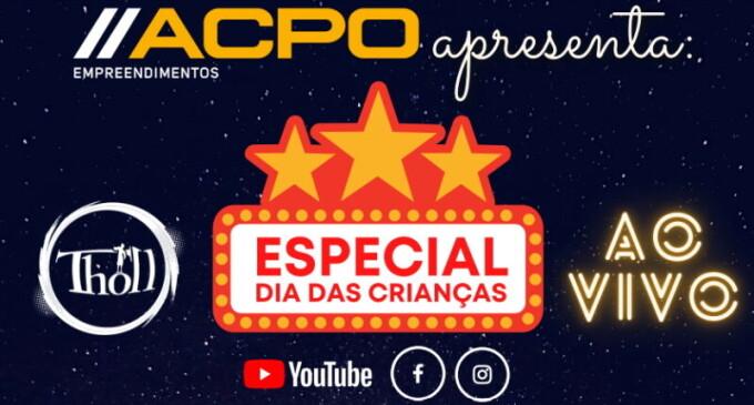Construtora ACPO promove especial de Dia das Crianças