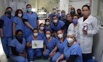 PRÁTICAS SEGURAS :  Reconhecimento à UTI Neonatal e Pediatria do Hospital Escola
