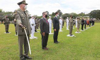 Brigada Militar celebra 183 anos com homenagem a militares e civis