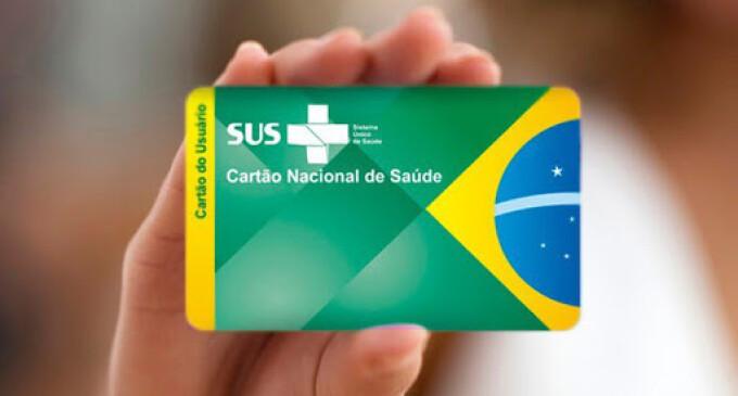 'Cartão SUS' somente nas UBS