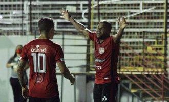 VITÓRIA DO ALÍVIO : Brasil faz bom enfrentamento e supera CRB na Baixada