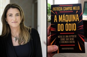 Se ganhar processo contra Bolsonaro, Patrícia Mello doará parte da indenização para o Instituto Patrícia Galvão que atua na defesa dos direitos das mulheres