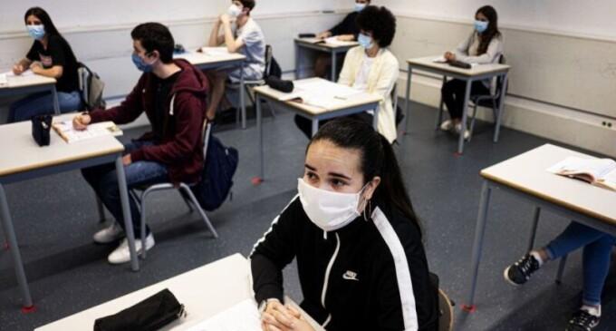 EDUCAÇÃO : Estado suspende aulas presenciais