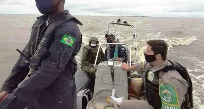 OPERAÇÃO MAR TERRITORIAL : Marinha, Ibama e BM apreenderam  45 toneladas de peixe em Rio Grande