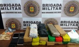 CRPO/SUL : Traficantes são presos pela Brigada