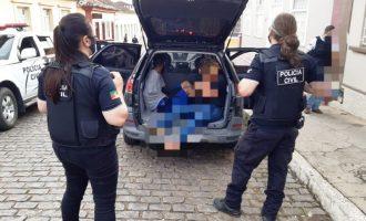 PIRATINI  : Operação combate o tráfico  e mobiliza 60 policiais