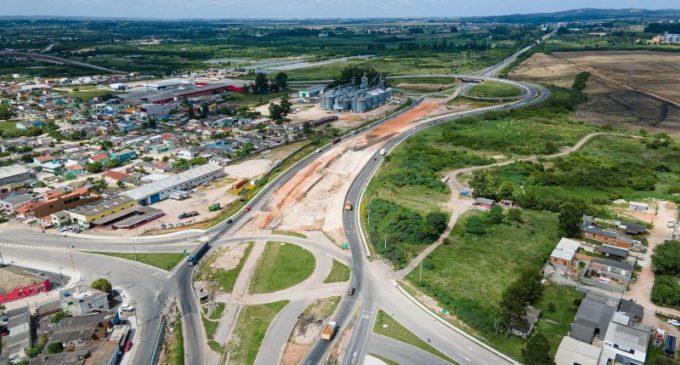 Início da construção de trincheira no Contorno de Pelotas altera tráfego no entorno da cidade