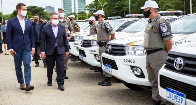 RS SEGURO : Governo entrega 53 viaturas  semiblindadas à Brigada