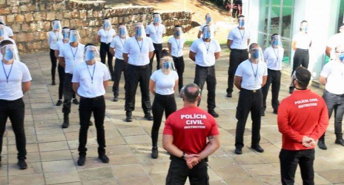 POLÍCIA CIVIL : Formação de inspetores e escrivães