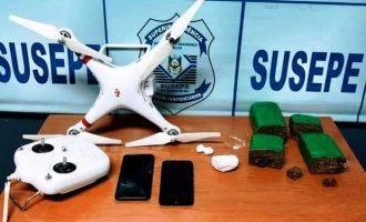 SISTEMA PRISIONAL : Polícia penal apreende drone