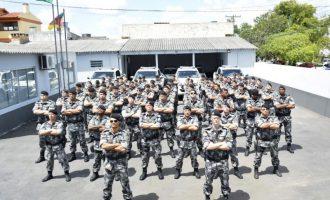 5º BATALHÃO DE CHOQUE :  Nova sede, treinamento e reforço nas parcerias