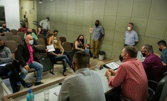 Câmara vai mediar conversas entre motoristas de aplicativos e prefeita