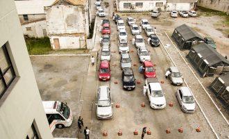 VACINAÇÃO EM PELOTAS : Prefeitura faz drive-thru de vacinação no fim de semana