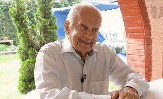 Pedro Simon completa 91 anos e analisa atual momento político