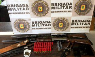 5º BPChq  : Posse irregular de armas de fogo