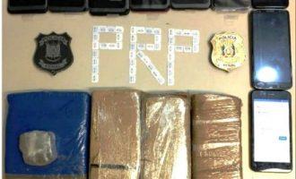 PRESÍDIO :  Apreensão de cocaína e celulares