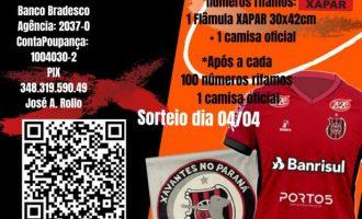 Concorra a camisas do Brasil pela XAPAR