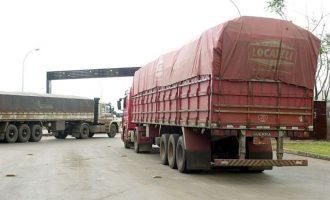 Secretaria da Saúde organiza testagem de Covid para caminhoneiros na fronteira
